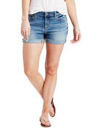 Vineyard Vines - Indigo Raw Cuffed Shorts - Lyst