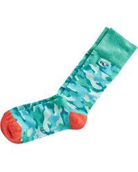 Vineyard Vines - Camo Printed Socks - Lyst