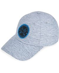 d6329e074ada5 Lyst - Vineyard Vines Performance Space Dyed Trucker Hat in Gray for Men