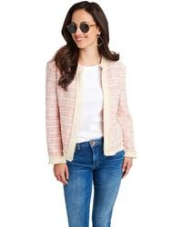 Vineyard Vines - Textured Fringe Jacket - Lyst