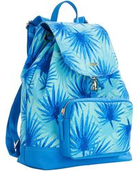 Vineyard Vines Electric Palm Printed Daypack - Blue