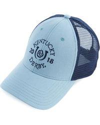 Vineyard Vines - Kentucky Derby Logo Trucker Hat - Lyst