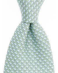 Vineyard Vines - Vineyard Whale Silk Tie (yellow) Ties - Lyst