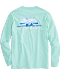 Vineyard Vines - Long-sleeve Rowing Pocket T-shirt - Lyst