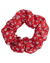 Vineyard Vines - Flag & Stars Silk Scrunchie - Lyst