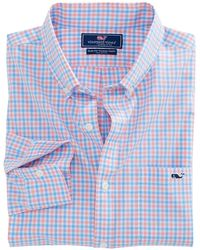 Vineyard Vines - Tipsy Turtle Check Slim Tucker Shirt - Lyst