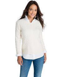 Vineyard Vines - Cashmere Coral Lane Sweater - Lyst