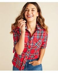 Vineyard Vines - Jolly Plaid Chilmark Relaxed Button Down - Lyst
