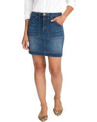 Vineyard Vines - Made In The Usa Utility Pocket Denim Skirt - Lyst