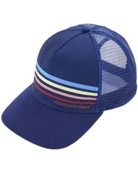 Vineyard Vines - Sunset Stripe Trucker Hat - Lyst