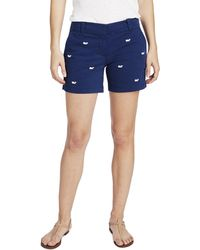 Vineyard Vines - 5 Inch Whale Embroidered Shorts - Lyst