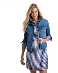 Vineyard Vines | Vintage Beach Wash Denim Jacket | Lyst