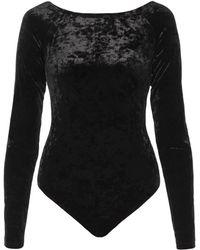 Michael Kors - Open-shoulder Velvet Body - Lyst