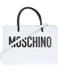 Moschino | Logo-printed Shoulder Bag | Lyst