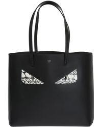 Fendi - 'roll' Shopper Bag - Lyst