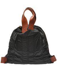 Jil Sander - Stitching Detail Backpack - Lyst