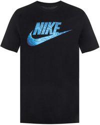 e84db3242c48 Lyst - Nike Fc Flag Crest T-shirt in Black for Men