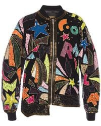 DIESEL - Asymmetrical Patterned Jacket - Lyst