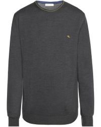 Etro Logo-embroidered Jumper