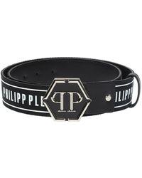 Philipp Plein - Branded Belt - Lyst