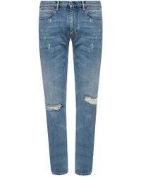 Acne Studios - Jeans With Holes - Lyst