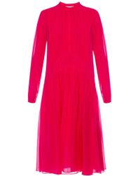 Burberry - Cut-out Dress - Lyst
