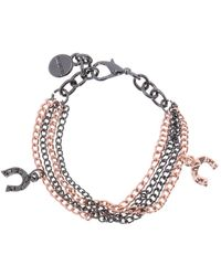 DIESEL - Bracelet With Charms - Lyst