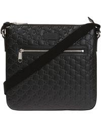 Gucci - Leather Shoulder Bag - Lyst