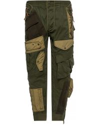 DSquared² - Tapered Cargo Trousers - Lyst
