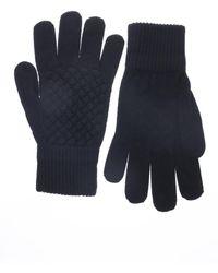 Bottega Veneta - Woven Wool Gloves - Lyst