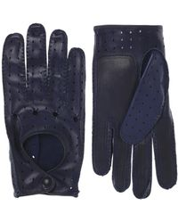 Etro - Leather Gloves - Lyst