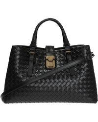Bottega Veneta - 'roma' Shoulder Bag - Lyst