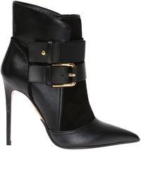 Balmain - Heeled Ankle Boots - Lyst
