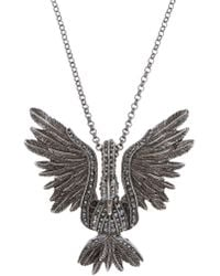 Lanvin - Necklace With Charm - Lyst