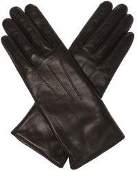 Isabel Marant Leather Gloves - Black