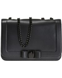 d6c42698df Ferragamo  vara  Shoulder Bag in Black - Save 40% - Lyst