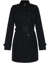 Burberry - 'the Sandringham' Double-breasted Trench Coat - Lyst
