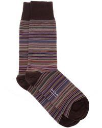 Paul Smith - Cotton Socks - Lyst