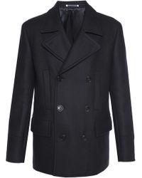 Paul Smith - Short Double-breasted Coat - Lyst