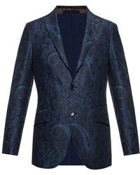 Etro Embroidered Blazer