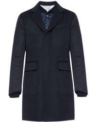 Moncler Gamme Bleu - Coat With Quilted Jacket - Lyst