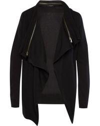 AllSaints - 'dahlia' Sweatshirt With Removable Collar - Lyst