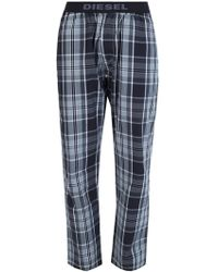 DIESEL - Check Pyjama Bottom - Lyst