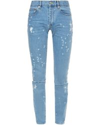 Givenchy - Distressed Jeans - Lyst