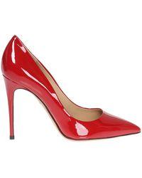 Ferragamo - 'fiore' Leather Court Shoes - Lyst