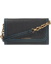 Burberry - Wallet On Strap - Lyst