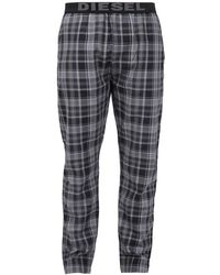 DIESEL - Checked Pyjamas Bottom - Lyst
