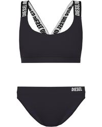 DIESEL - Two-piece Swimsuit With Logo - Lyst