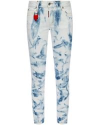 DSquared² - 'runway Straight Cropped Jean' Jeans - Lyst