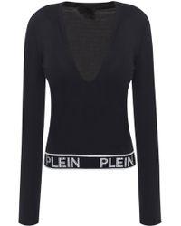 Philipp Plein - T-shirt With Logo Hemline - Lyst
